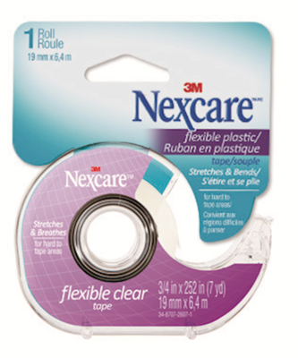 3M™ Nexcare™ Flexible Clear First Aid Tape (Dispenser)