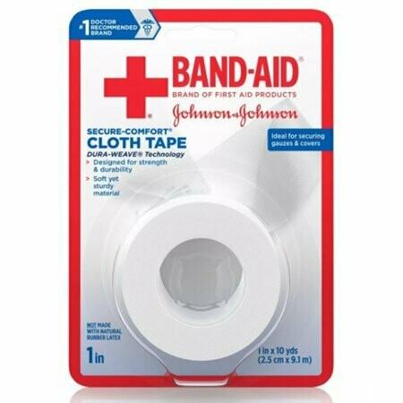 Band-Aid Cloth Tape - 1in x 10yd