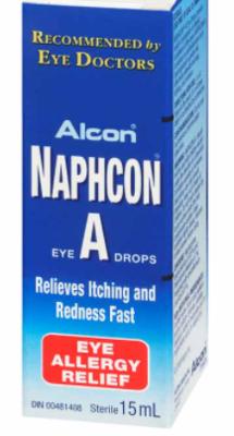 Naphcon-A Eye Drops - 15ml