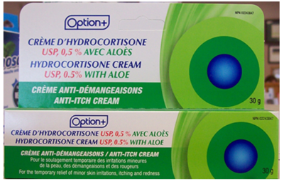 Hydrocortisone Cream 0.5% ALOE 30G