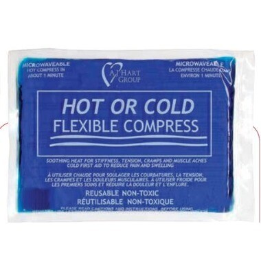 Hot/Cold Flexible Compress Reusable, 1 Gel Pack
