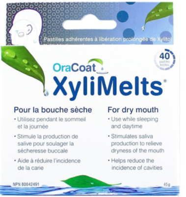 Oracoat Xylimelts Pastilles For Dry Mouth - 40's