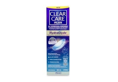 Clear Care Plus with HydraGlyde Single Pack 360ml