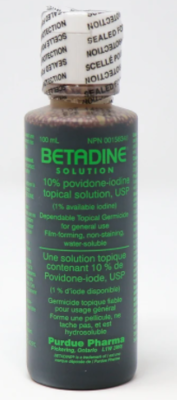 Betadine Solution 10% Povidone-Iodine