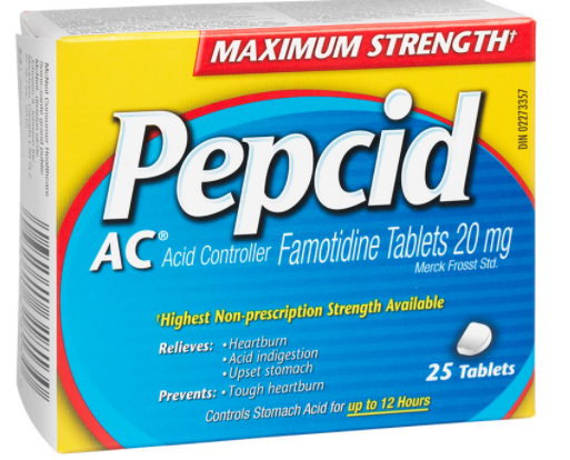 Pepcid AC Acid Controller - Maximum Strength - 25 tablets