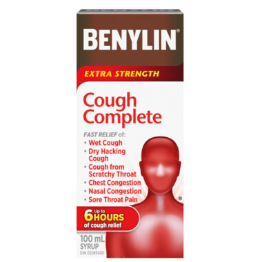 Benylin Extra Strength Cough Complete 100 mL
