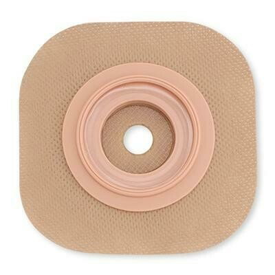 HOL 11403 New Image Convex CeraPlus Skin Barrier, 1-1/2'', Cut-to-fit, With Tape Border, 5/Box