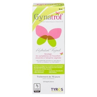 Gynatrof Natural Vaginal Moisturizer 20+applications(50ml)