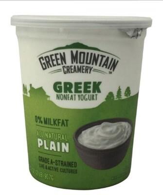 Greek Yogurt - Green Mountain Creamery - 32 Oz