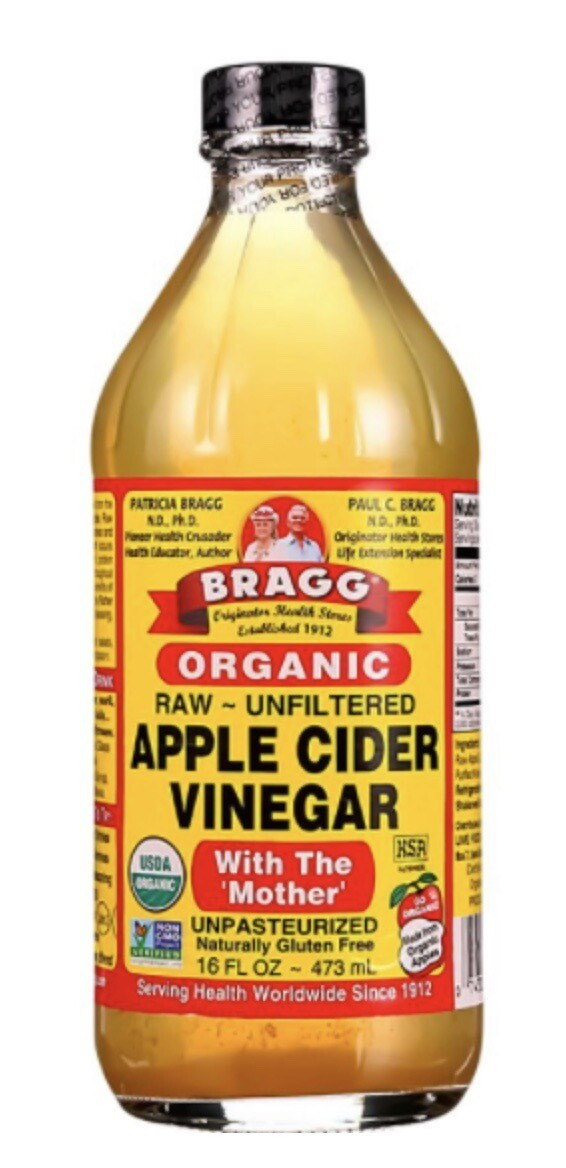 Bragg Apple Cider - Raw & Organic