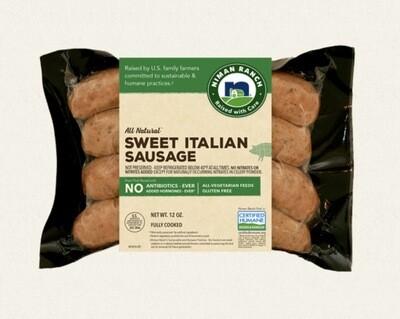 Niman Ranch Sweet Italian Sausage - 12 Oz