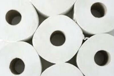 Toilet Paper - 2 Ply - 12 Rolls