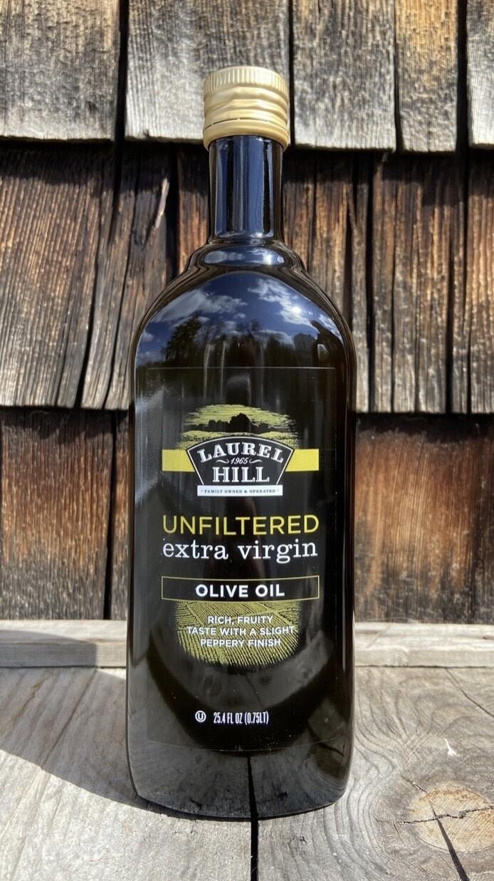 Laurel Hill - Unfiltered Extra Virgin Olive Oil - 25.4 Oz
