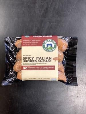 Niman Ranch Spicy Italian Sausage 12 Oz