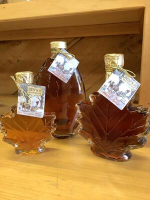 Ben's Sugar Shack Glass Bottle Syrup