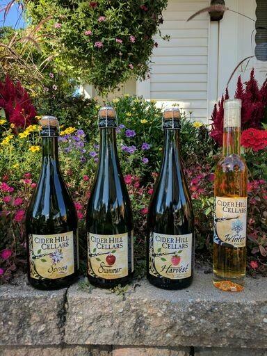 Cider Hill Cellars - Strawberry Harvest - Hard Cider