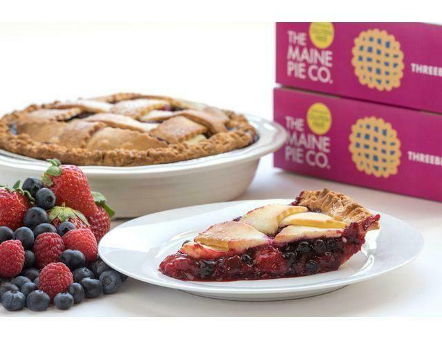 """9"""" Gluten Free Threeberry Pie - Frozen"""
