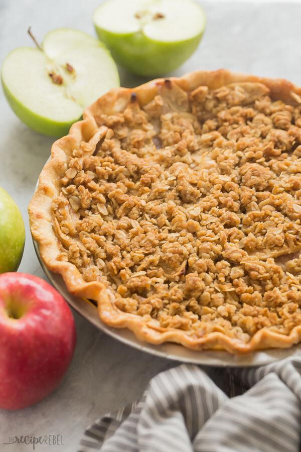 "10"" Apple Crumb Pie - Fresh"