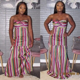 Bowtie Tube Dress