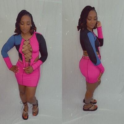 Nicotine Skirt Set