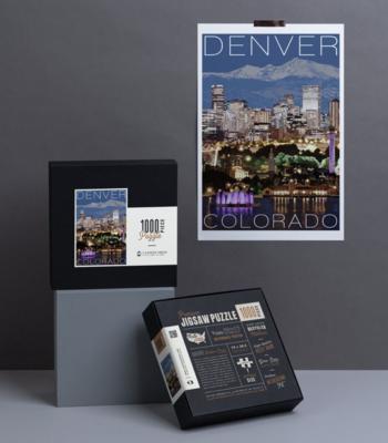 Puzzle - Colorado - Choose From Designs