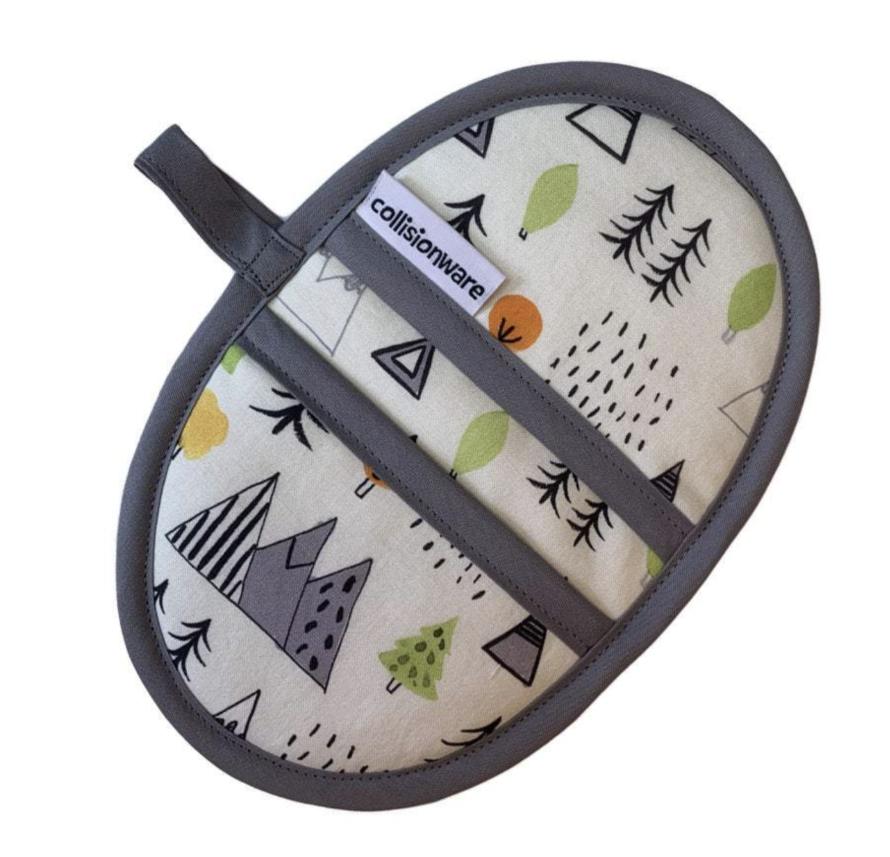 Pot Holder - Oval - Choose From Designs