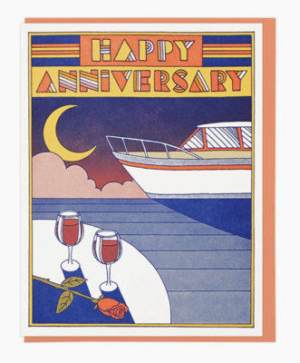 Anniversary Cards - Choose From Designs