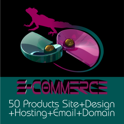 WEBSITE- E-COMMERCE 50 P