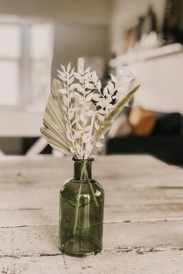 Green Vase Arrangement