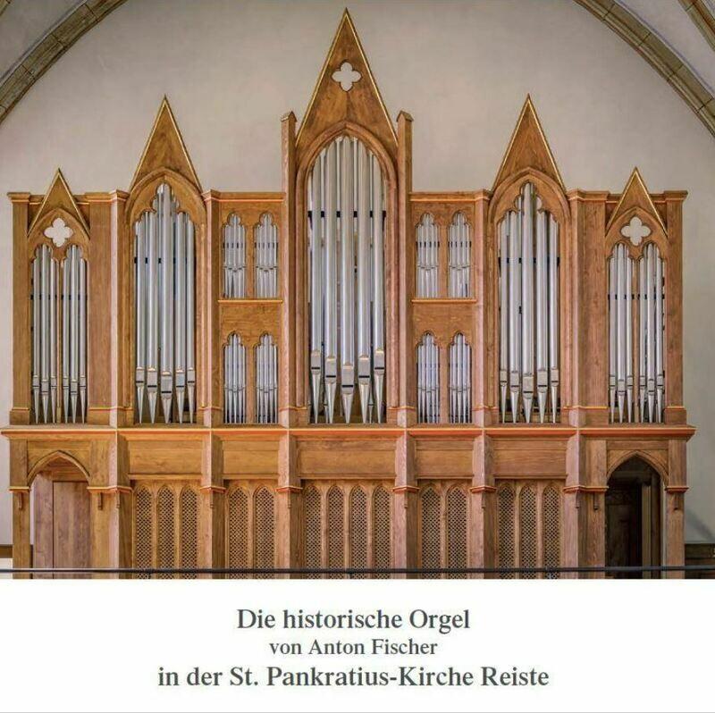 Chronik der Reister Orgel (gebunden, 78 Seiten)