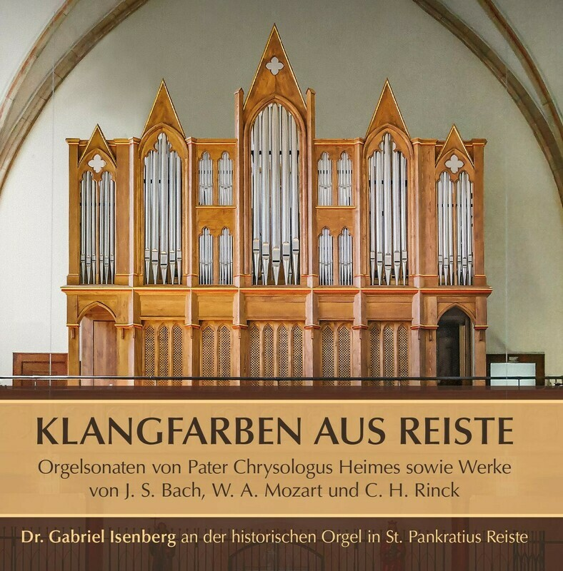 CD Klangfarben aus Reiste (Aufnahme 2020)