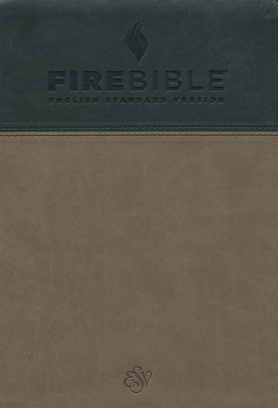 English Standard Version (ESV) Slate/Charcoal PU Cover