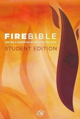 English Standard version (ESV) Student Edition Brick Red/Plum PU Cover