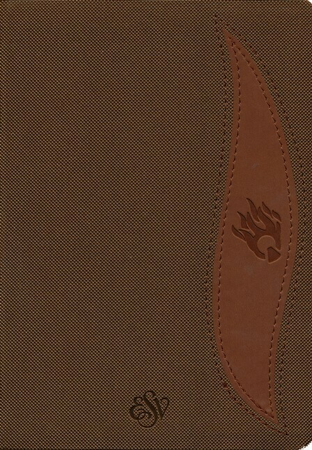 English Standard version (ESV) Student Edition Brown/Chesnut PU Cover