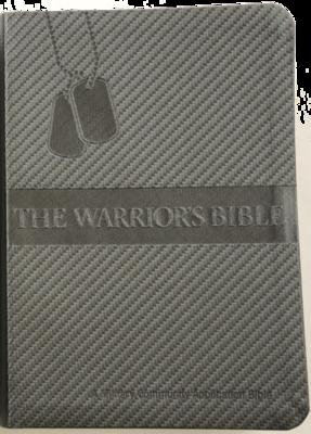 Warriors Bible (NKJV) Gunmetal PU Cover