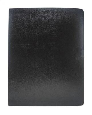 English Standard Version (ESV) Large Print Black Bonded
