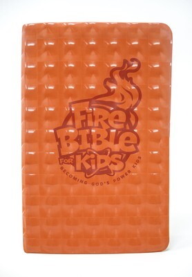 FireBible for Kids (NKJV) Orange Flex Cover