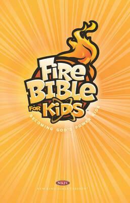 FireBible for Kids (NKJV) Orange  Hardcover