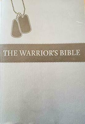 Warriors Bible (NKJV) Grey Paperback Cover
