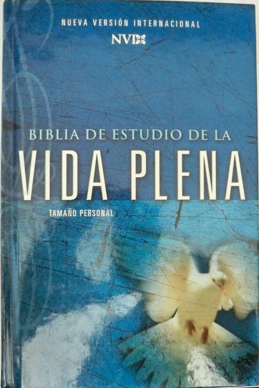 Spanish - Nueva Versión Internacional (NVI) (Biblia de Estudio de la Vida Plena) Blue Hardback