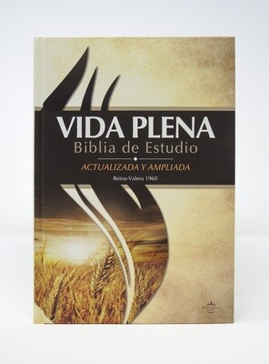 Spanish - Reina-Valera 1960 (RVR) (Biblia de Estudio de la Vida Plena) Printed Hardcover