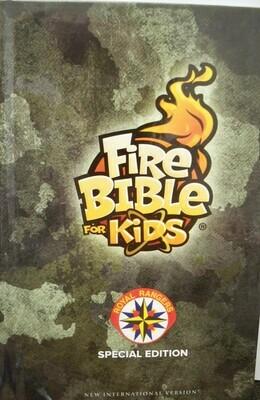 FireBible for Kids Royal Rangers Edition (NIV) Camo  Hardcover