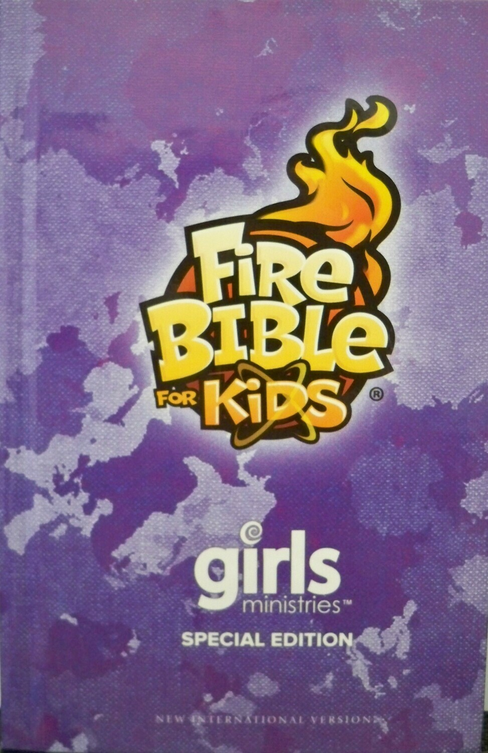 FireBible for Kids Girls Ministry Edition (NIV) Purple  Hardcover