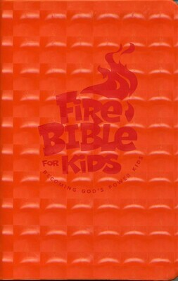 FireBible for Kids (NKJV) Orange Flex Cover