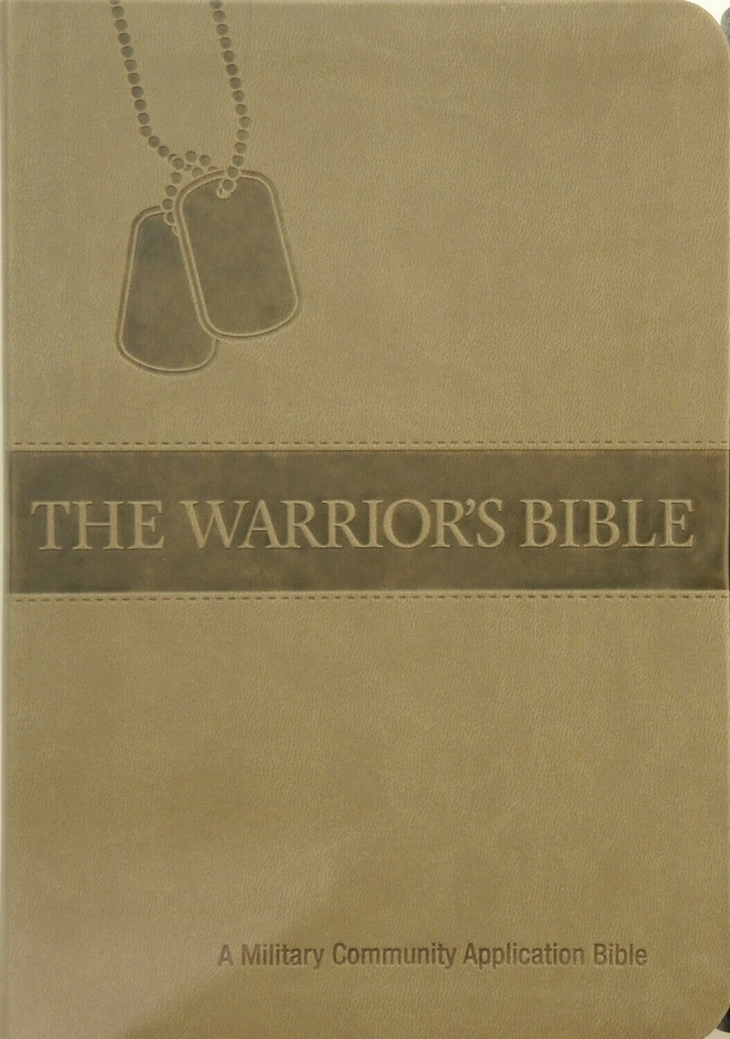 Warriors Bible (NKJV) Brown PU (polyurethane) Cover