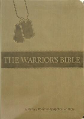 Warriors Bible (NKJV) Brown PU Cover