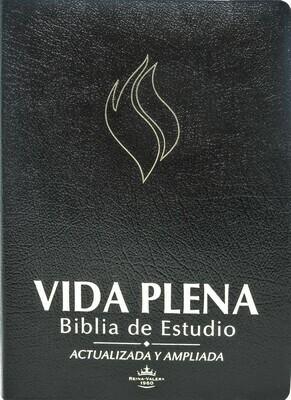 Spanish - Reina-Valera 1960 (RVR) (Biblia de Estudio de la Vida Plena) Black Bonded Leather w/ thumb index