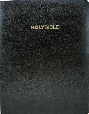 King James Version (KJV) Large Print Black Bonded