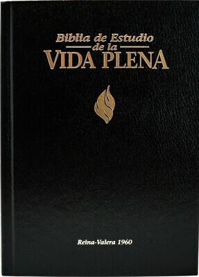 Spanish - Reina-Valera 1960 (RVR) (Biblia de Estudio de la Vida Plena) Black Hardcover