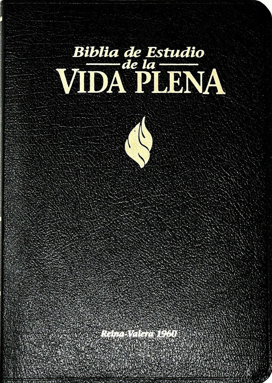 Spanish - Reina-Valera 1960 (RVR) (Biblia de Estudio de la Vida Plena) Black Bonded Leather